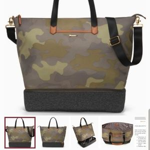 Stella and Dot Camo Crush it bag